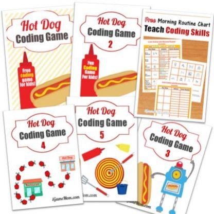 Hot Dog Coding Game Bundle