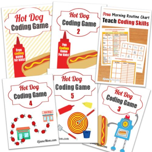 Hot Dog Coding Game Bundle
